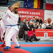 KARATE HOFSTEIG Spitzensport Kumite Gerhard Grafoner Marijana Maksimovic