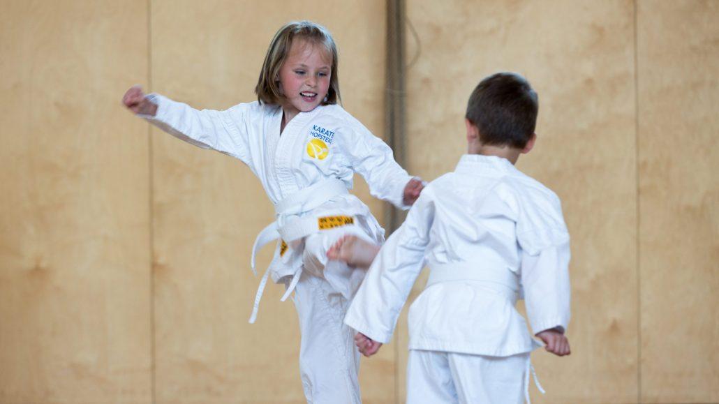 MINI KIDS Karate HOFSTEIG Karate macht klug Karate lernen