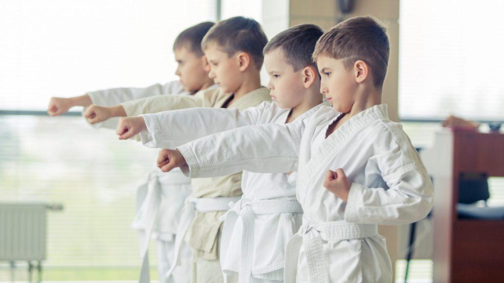 KARATE HOFSTEIG Kids Karate lernen Karate mach klug ©AdobeStock_113355263/satyrenko