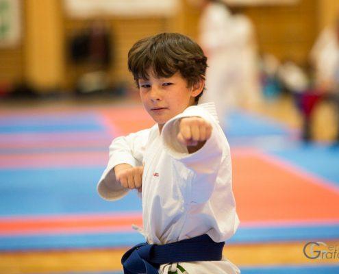 Dornbirner Karate Cup 2018 KARATE HOFSTEIG Kata Kumite David Nussbaumer