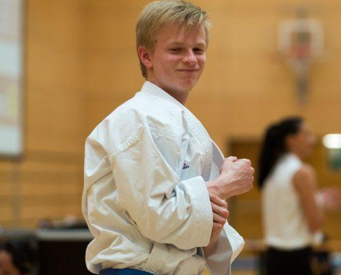 Dornbirner Karate Cup 2018 KARATE HOFSTEIG Kata Kumite Vincent Forster