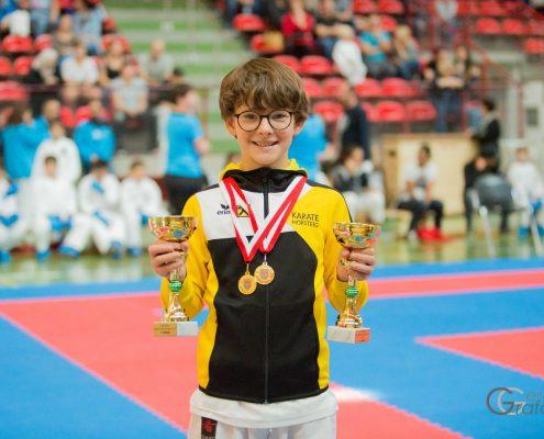 KARATE HOFSTEIG Landesmeisterschaft 2018 David Nussbaumer