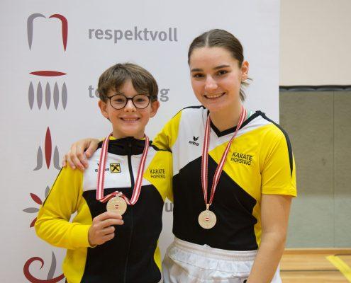 Karate Österreichische Meisterschaft 2018 KARATE HOFSTEIG David Nussbaumer Marijana Maksimovic