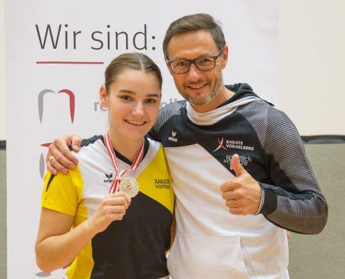 Karate Österreichische Meisterschaft 2018 KARATE HOFSTEIG Gerhard Grafoner Marijana Maksimovic
