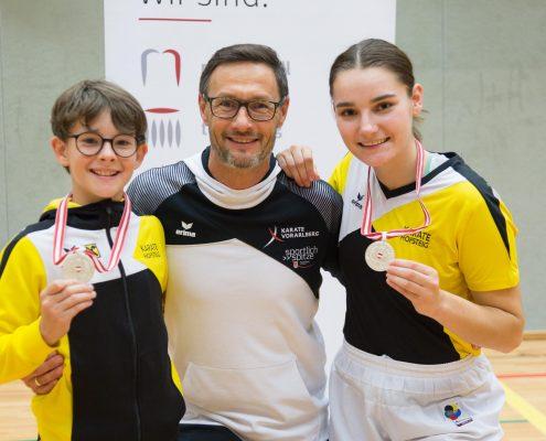 Karate Österreichische Meisterschaft 2018 KARATE HOFSTEIG David Nussbaumer Gerhard Grafoner Marijana Maksimovic