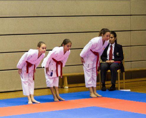 KARATE HOFSTEIG ASKÖ Bundesmeisterschaft 2018 Lustenau Karate Kata Antonia Veits Kathalina Grafoner Michelle Flecker