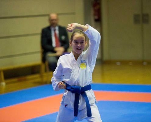 KARATE HOFSTEIG ASKÖ Bundesmeisterschaft 2018 Lustenau Karate Kata Antonia Veits