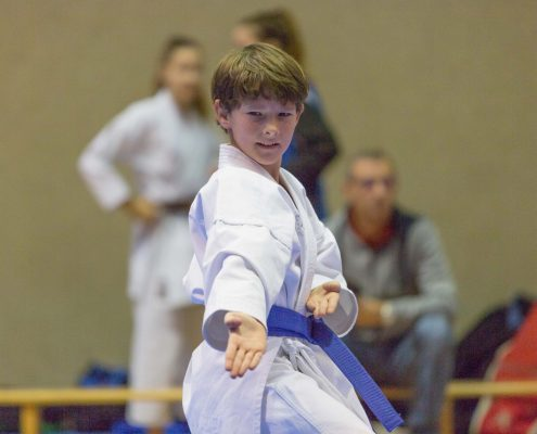 KARATE HOFSTEIG ASKÖ Bundesmeisterschaft 2018 Lustenau Karate Kata Kumite David Nussbaumer