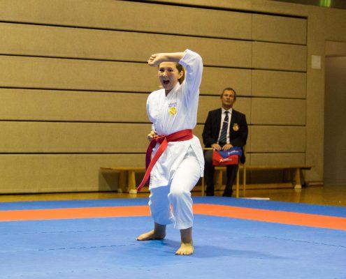 KARATE HOFSTEIG ASKÖ Bundesmeisterschaft 2018 Lustenau Karate Kata Michelle Flecker