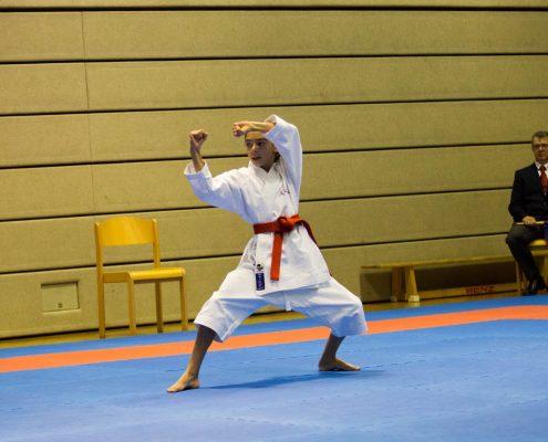 KARATE HOFSTEIG ASKÖ Bundesmeisterschaft 2018 Lustenau Karate Kata Kathalina Grafoner