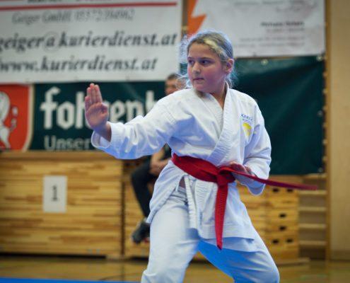 KARATE HOFSTEIG Nikolausturnier 2018 Feldkirch Jana Schaedl