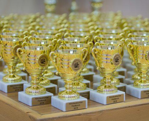 KARATE HOFSTEIG Nikolausturnier 2018 Feldkirch Pokale
