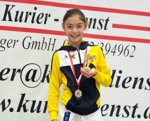 KARATE HOFSTEIG Nikolausturnier 2018 Feldkirch Kathalina Grafoner