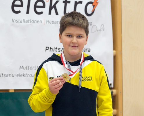 KARATE HOFSTEIG Nikolausturnier 2018 Feldkirch Antonia Nail Puskar