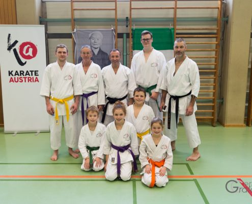 KARATE HOFSTEIG Karate Lehrgang Silvio Campari 2018 Lauterach SKC Krumbach