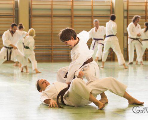 KARATE HOFSTEIG Karate Lehrgang Silvio Campari 2018 Lauterach David Nussbaumer Kim Auer