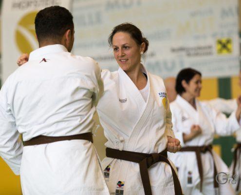 KARATE HOFSTEIG Karate Lehrgang Silvio Campari 2018 Lauterach Kim Auer
