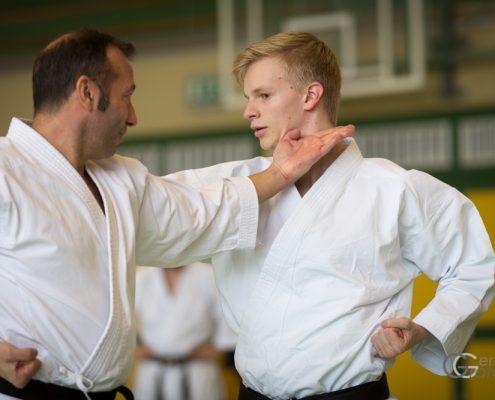 KARATE HOFSTEIG Karate Lehrgang Silvio Campari 2018 Lauterach Vincent Forster