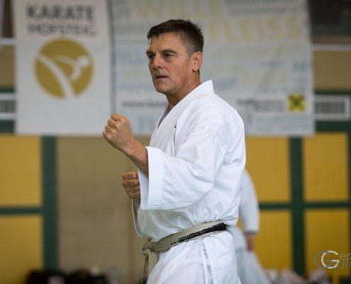 KARATE HOFSTEIG Karate Lehrgang Silvio Campari 2018 Lauterach Günter Marte