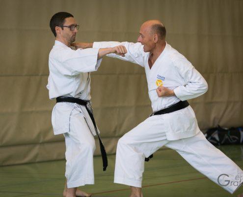KARATE HOFSTEIG Karate Lehrgang Silvio Campari 2018 Lauterach Thomas Embacher Oliver Pritz