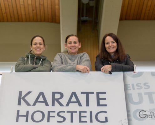 KARATE HOFSTEIG Karate Lehrgang Silvio Campari 2018 Lauterach Kim Auer Andrea Forster Miriam Nussbaumer