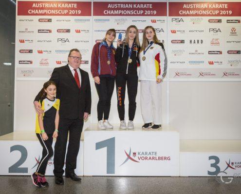 AUSTRIAN KARATE CHAMPIONSCUP 2019 Hard Christina Grafoner KARATE VORARLBERG KARATE HOFSTEIG Christian Reiter KARATE AUSTRIA