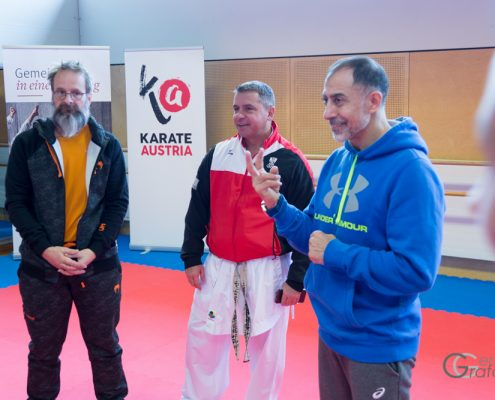 INNOVATION DAYS 2019 KARATE HOFSTEIG KARATE VORARLBERG Olympiazentrum Vorarlberg Zivorad Stanojevic Christian Mörth