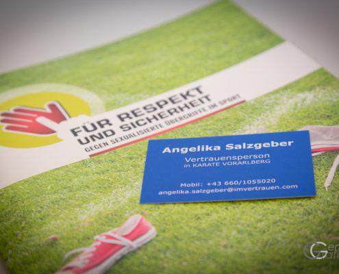 INNOVATION DAYS 2019 KARATE HOFSTEIG KARATE VORARLBERG Olympiazentrum Vorarlberg Vertrauensperson Angelika Salzgeber