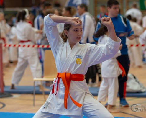 KARATE HOFSTEIG Nicki Cup 2019 KARATE VORARLBERG Michelle Flecker