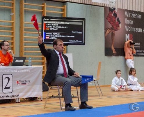 KARATE HOFSTEIG Nicki Cup 2019 KARATE VORARLBERG Saleh Al Hussini