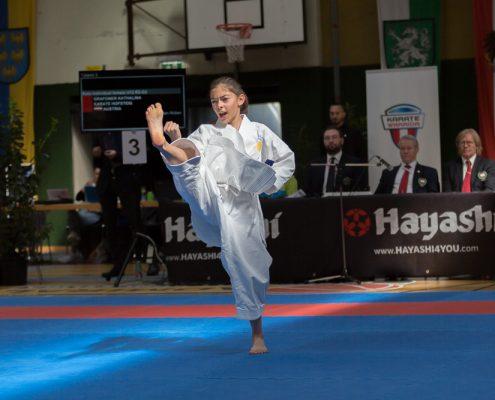 Österreichische Nachwuchsmeisterschaft 2019 Fürstenfeld KARATE HOFSTEIG Kathalina Grafoner
